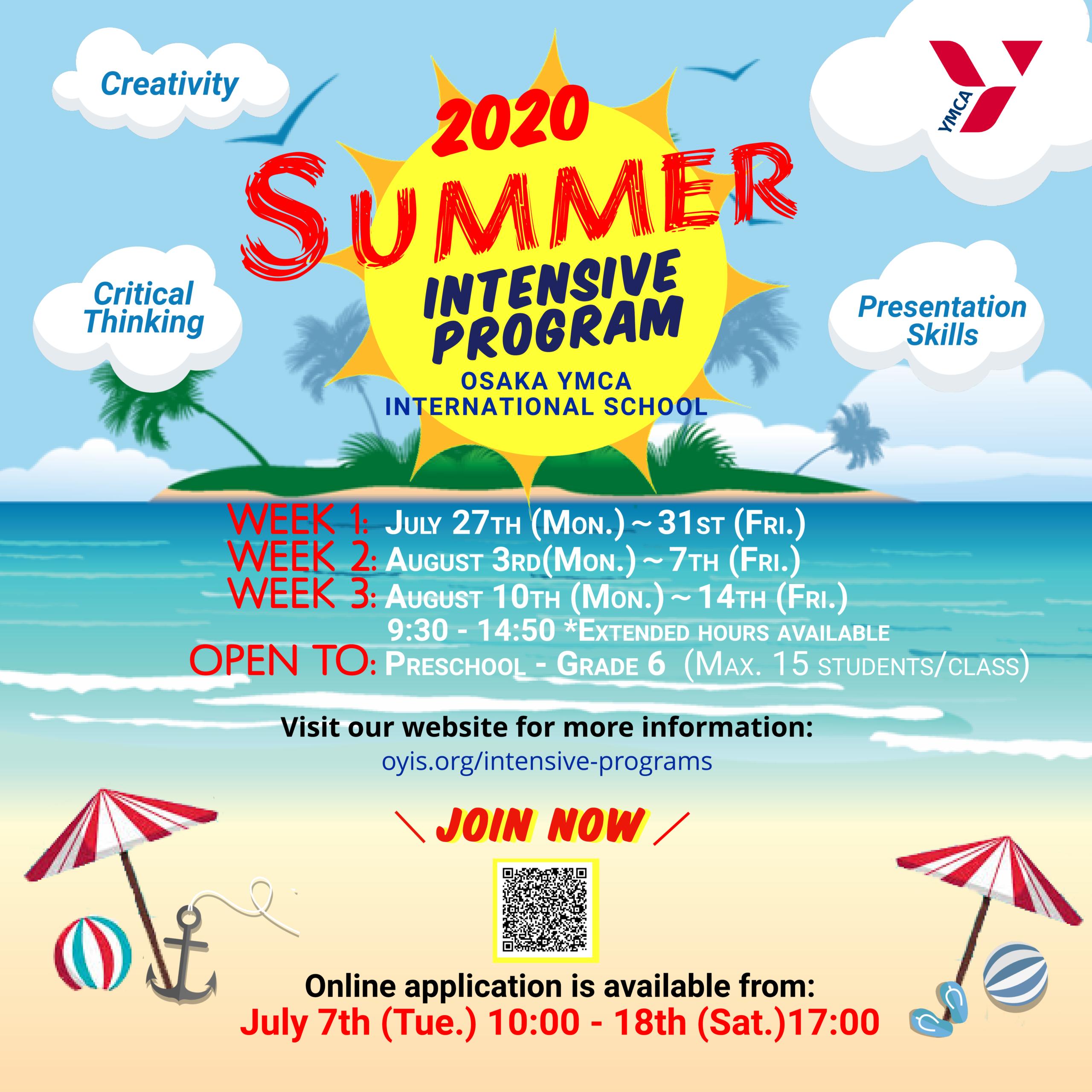 Summer intensive 2020