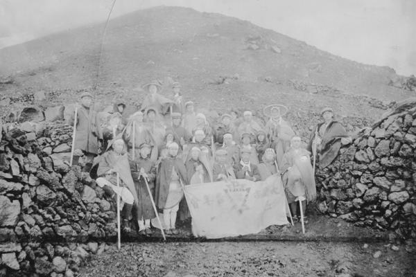 The YMCA Mt. Fuji Climbing Society was organized in July 1910
