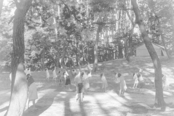 Osaka YMCA Campground at Ura of Shoho in Awaji Island - 1930